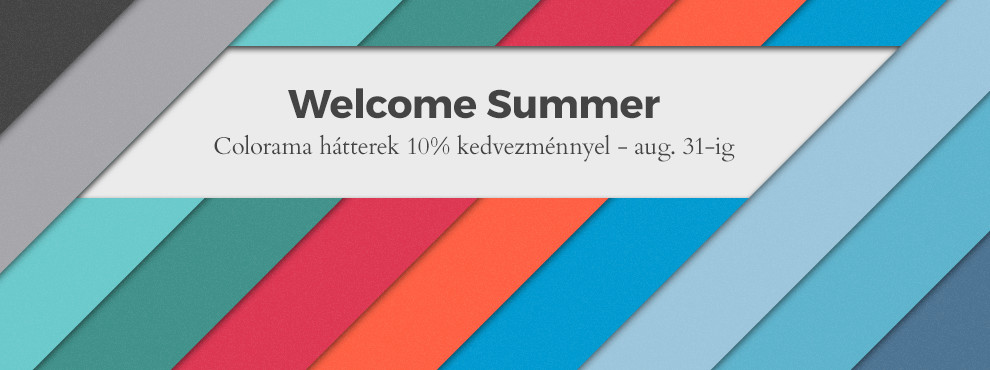 Colorama Welcome Summer 2016