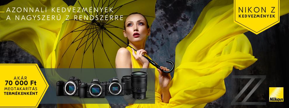Nikon nyári promóció 2020