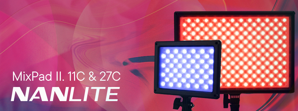 Nanlite MixPad II 11C&27C