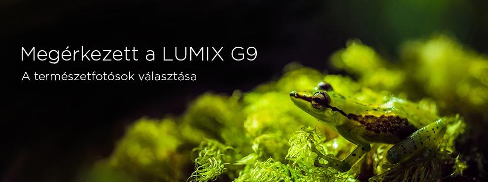 Megérkezett a Panasonic Lumix G9