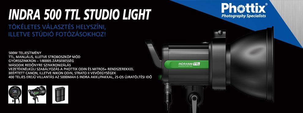 Phottix Indra 500 TTL Studio Light