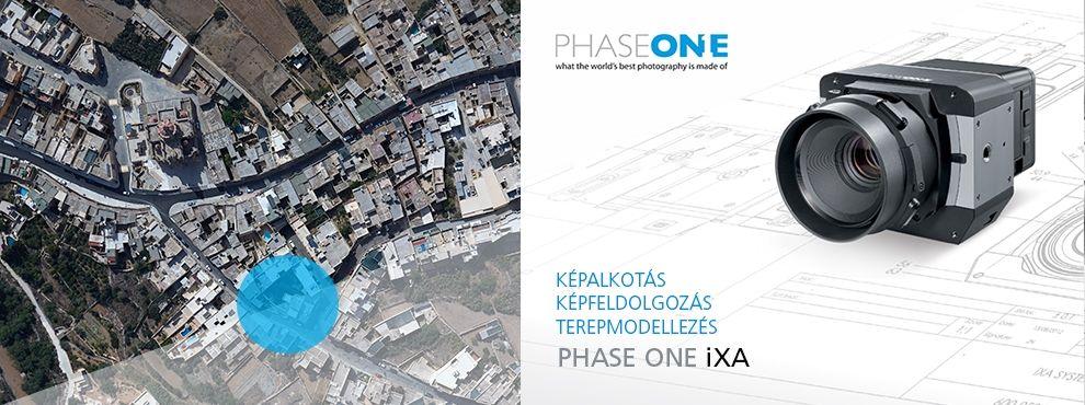 Képfeldolgozás, képalkotás, terepmodellezés Phase One iXA eszközzel