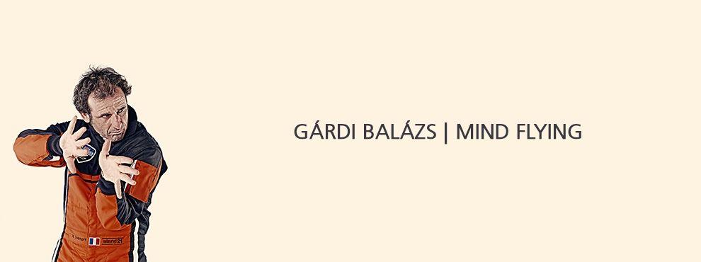 Gárdi Balázs és a Mind Flying projekt