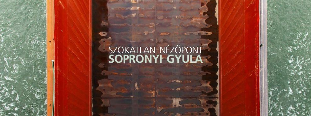 Szokatlan nézőpont - Sopronyi Gyula kiállítása Párizsban