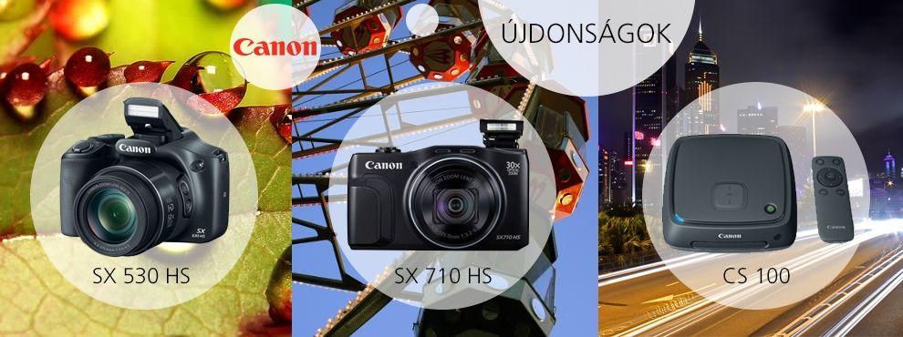 Izgalmas újdonságok 2015-re a Canontól