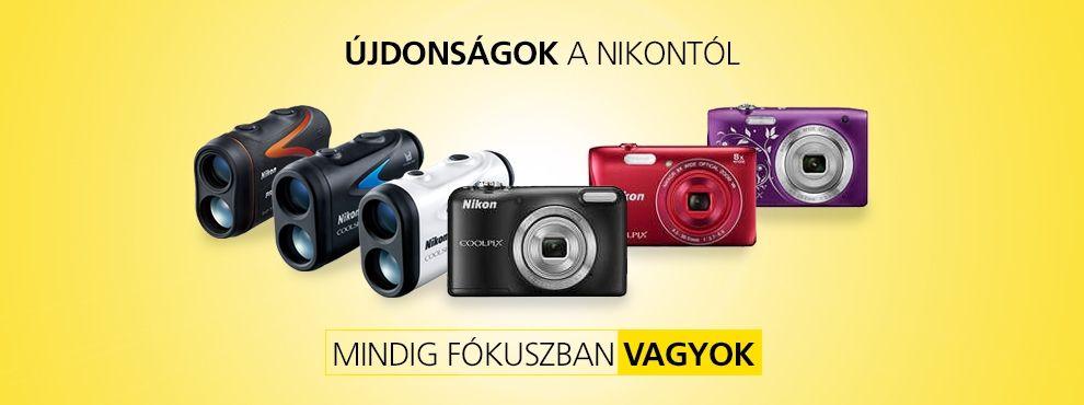 Újdonságok a Nikontól
