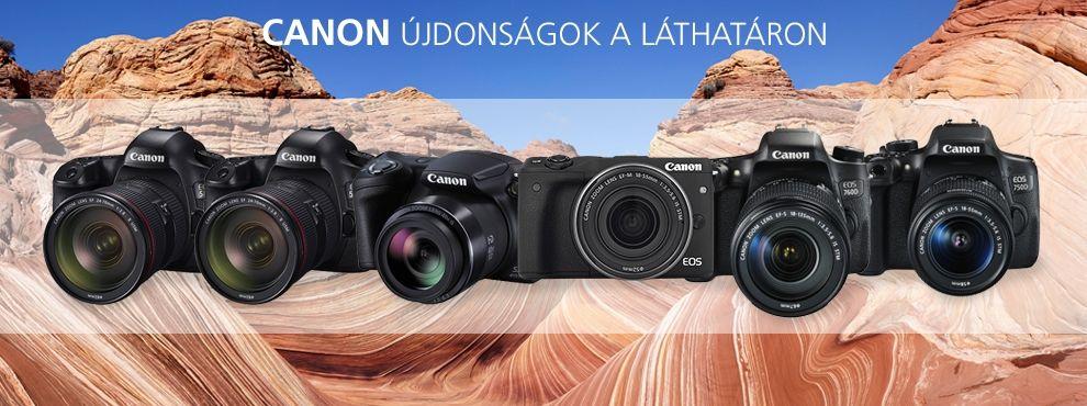 Canon újdonságok a láthatáron
