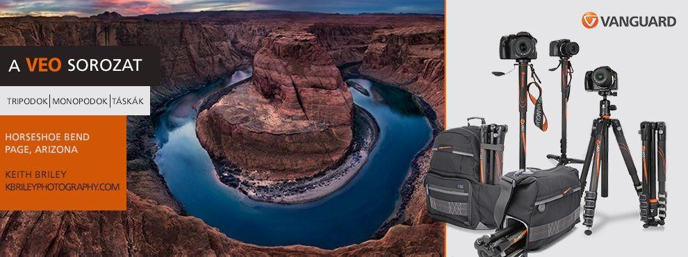 Vanguard VEO sorozat - utazó életmódot folytató fotósok számára
