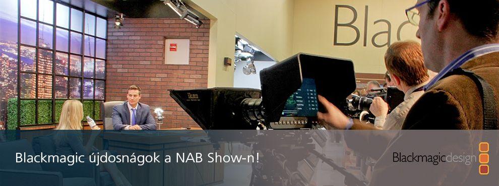Hatalmas újdonságokkal jelentkezik a Balckmagic Design a NAB kiállításról.