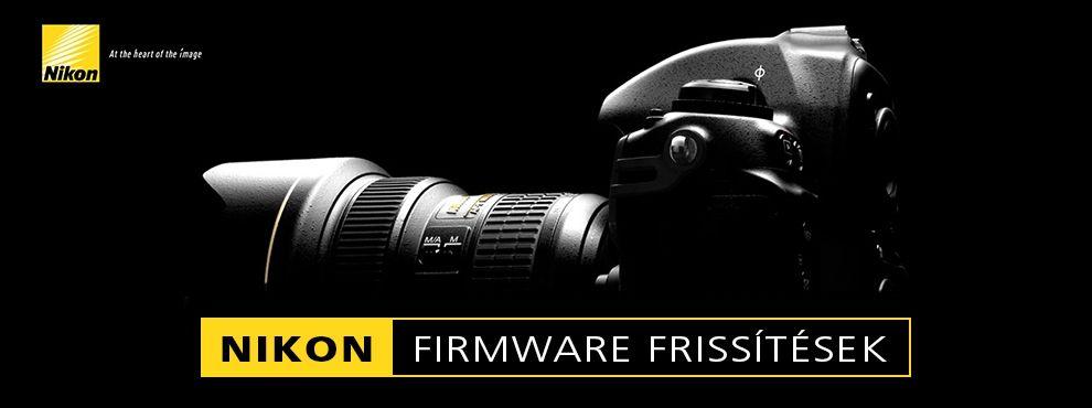 A Nikon bejelentette az új 1.10-es firmware frissítést a D4-es tükörreflexes fényképezőgépeihez.