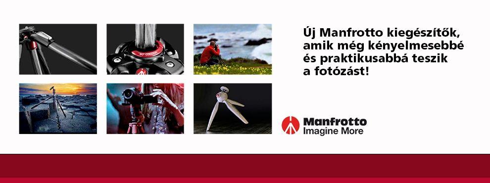 Újdonságok a Manfrottotól: Kiegészítők állványokhoz és Friction Armok