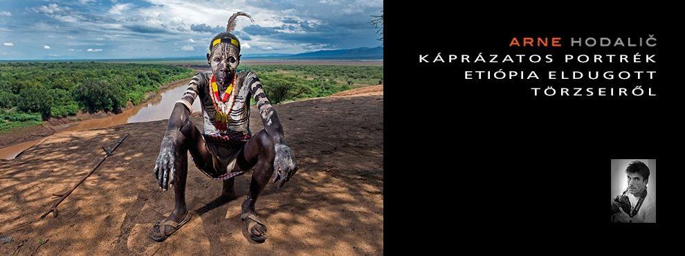 Káprázatos portrék Etióipa eldugott törzseiről