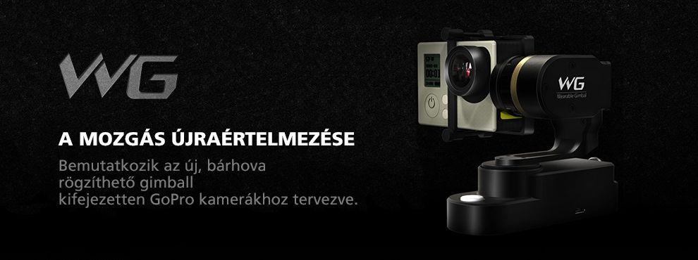 Bemutatkozik az új, bárhova rögzíthető gimball, kifejezetten GoPro akciókamerákhoz kifejlesztve