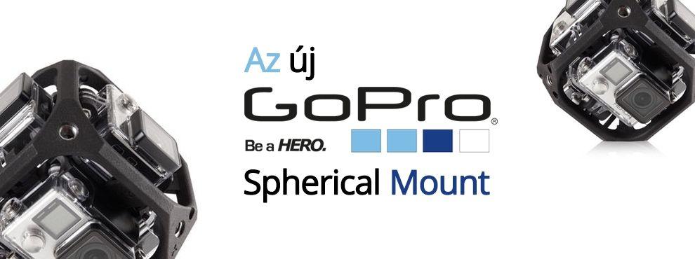 Az új GoPro Spherical Mount bemutatkozik