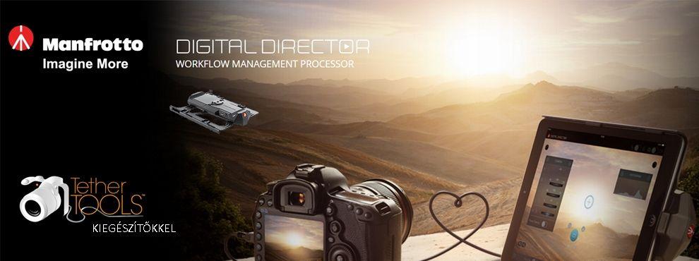 A Tether Tools hasznos termékei a Manfrotto Digital Director-hoz