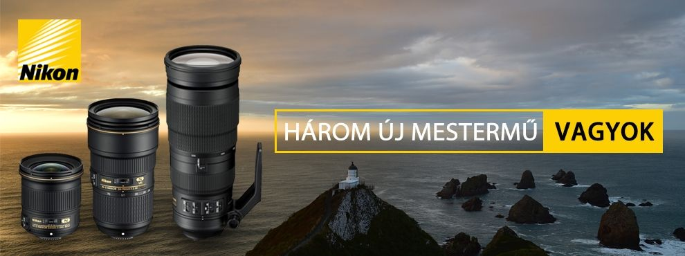 A Nikon bejelentette három legújabb objektívjét