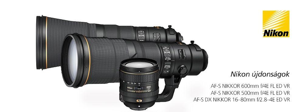A Nikon 3 új objektívvel is megörvendeztette a márka rajongóit