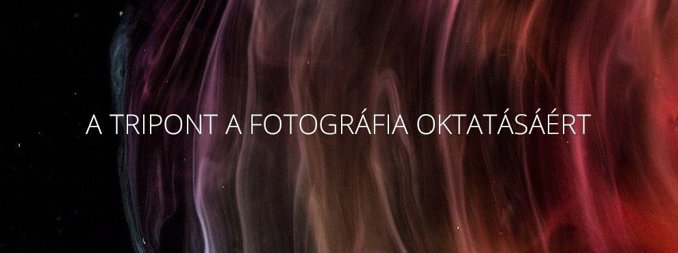 A Tripont a fotográfia oktatásáért