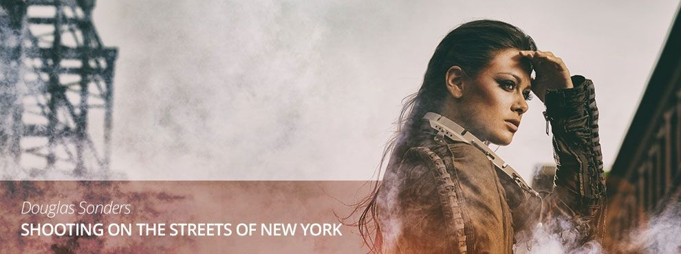 Douglas Sonders - Shooting on the streets of New York