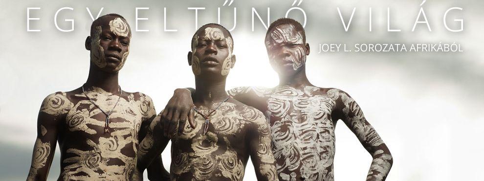 Egy eltűnő világ - Joey L. sorozata Afrikából