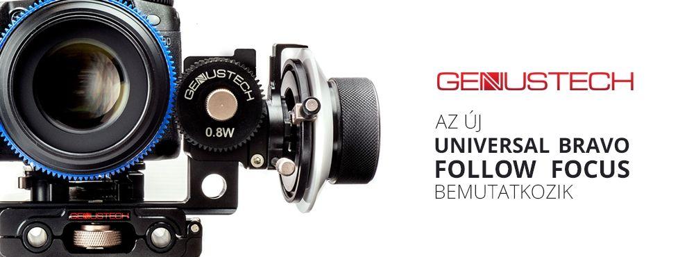 Genustech - Az új Universal Bravo Follow Focus bemutatkozik