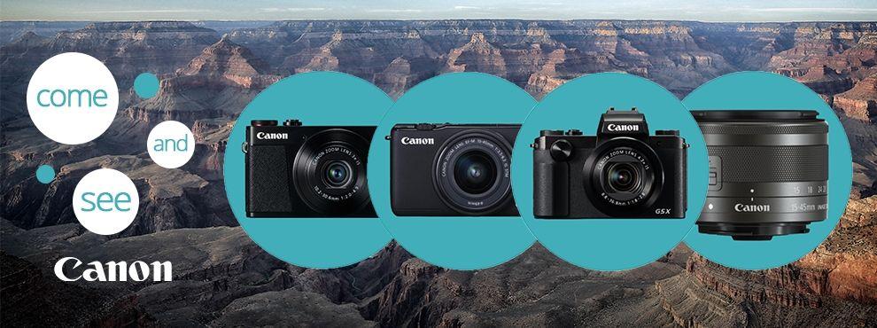 A Canon bemutatta legújabb termékeit