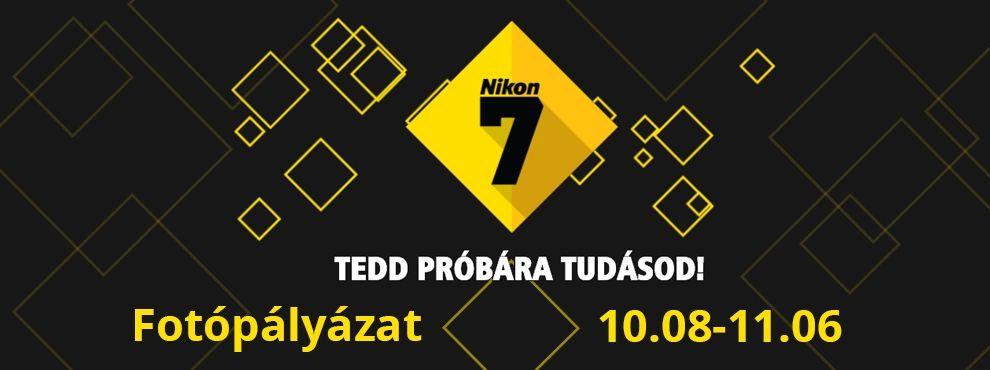 Nikon 7 - Tedd próbára tudásod!