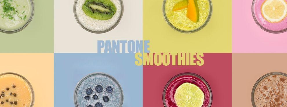 Pantone Smoothies - színkeverés gyümölcsökkel