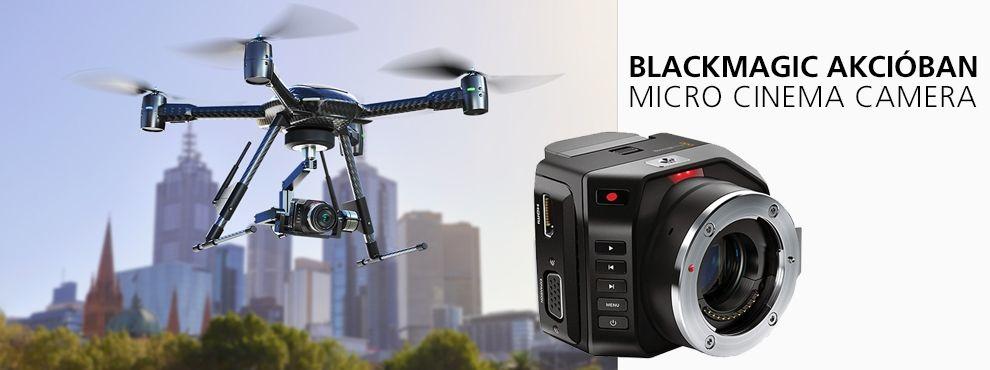 Blackmagic akcióban / Micro Cinema Camera