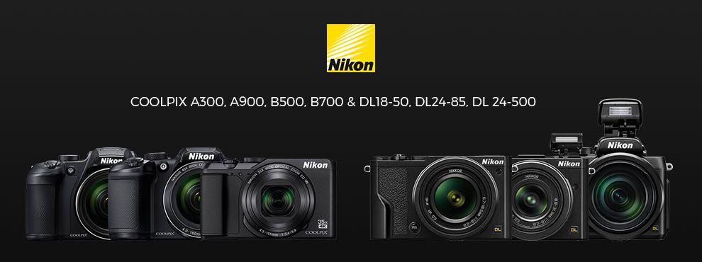Nikon DL prémium kompakt fényképezőgépek, valamint új COOLPIX gépek a láthatáron