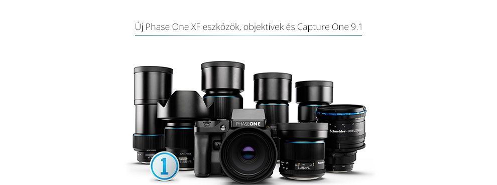 Új XF eszközök, optikák és a Capture One Pro 9.1.
