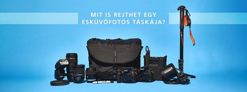 Mit is rejthet egy esküvőfotós táskája?