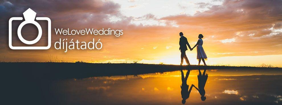 WeLoveWeddings díjátadó