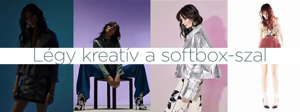 Légy kreatív a softbox-szal