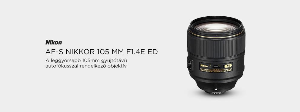 Nikon Nikkor 105mm F1.4E ED