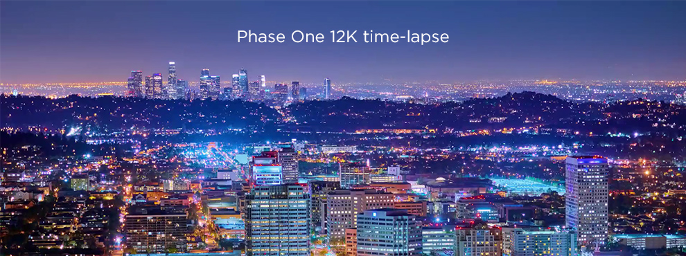 Phase One 12K time-lapse