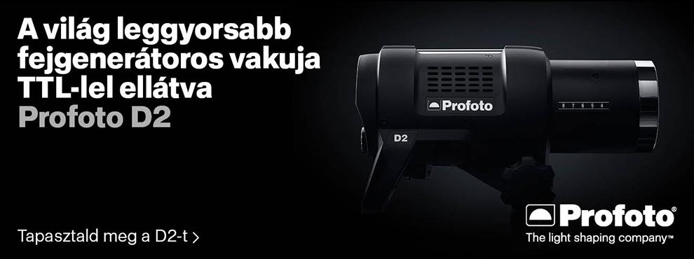 A Profoto bemutatja a D2-t, a világ leggyorsabb vakufejét