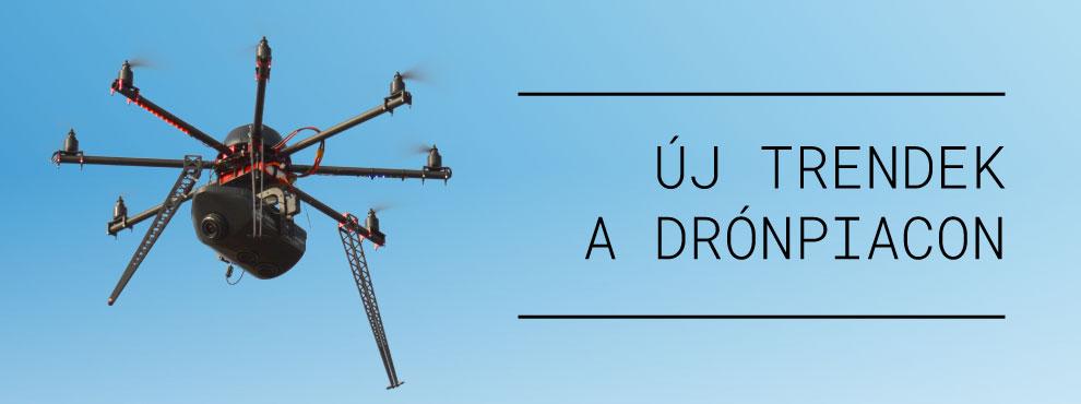 Új trendek a drónpiacon