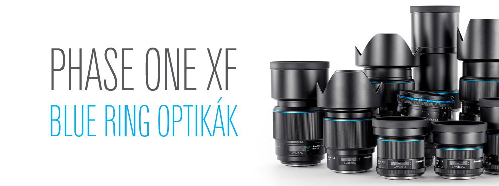 Phase One XF - Blue Ring optikák