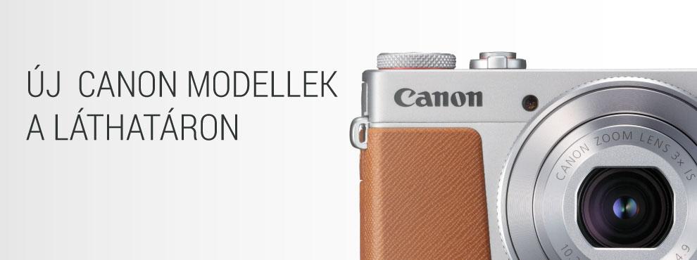 Új Canon modellek a láthatáron