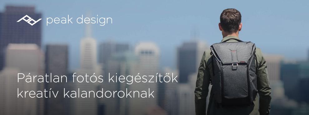 Peak Design: Páratlan fotós kiegészítők kreatív kalandoroknak