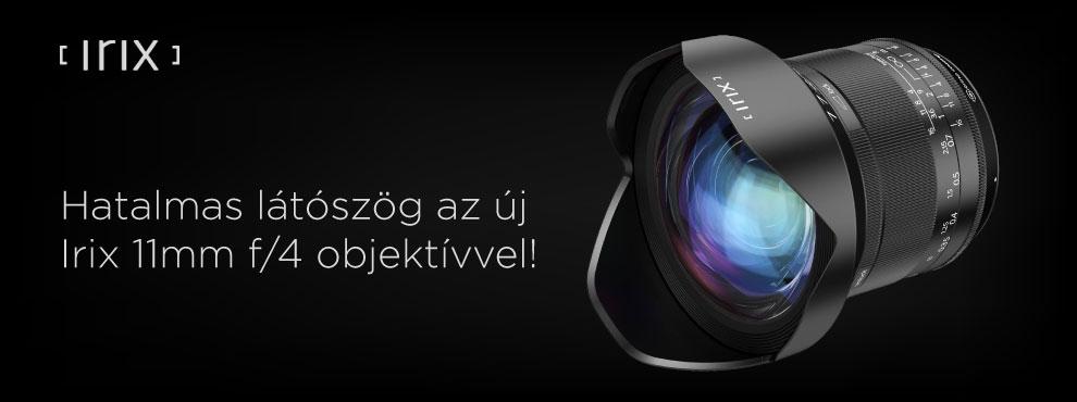 Hatalmas látószög az új Irix 11mm f/4 objektívvel!