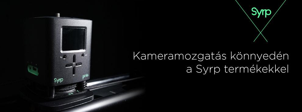 Kameramozgatás könnyedén a Syrp termékekkel