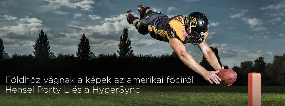 Földhöz vágnak a képek az amerikai fociról – Hensel Porty L és a HyperSync