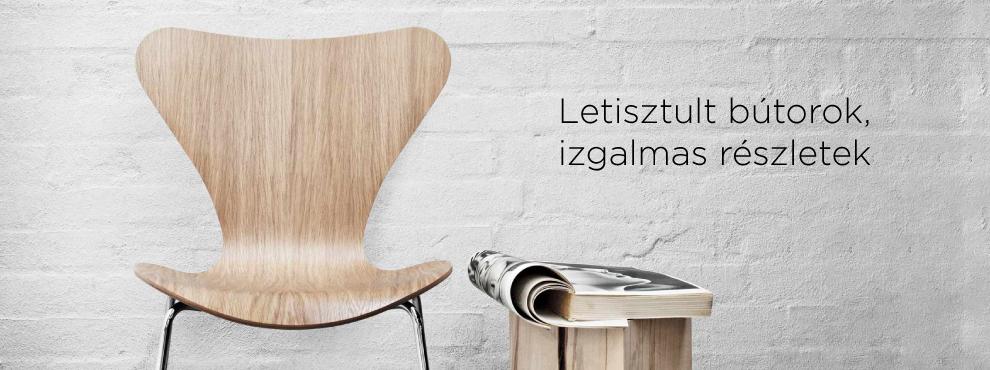 Letisztult bútorok, izgalmas részletek