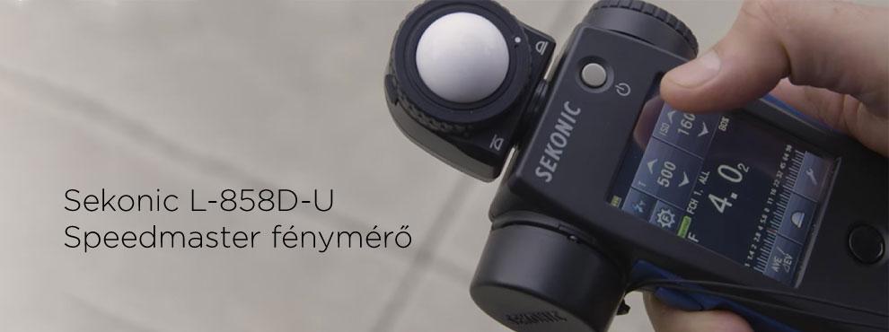 Sekonic L-858D-U Speedmaster fénymérő