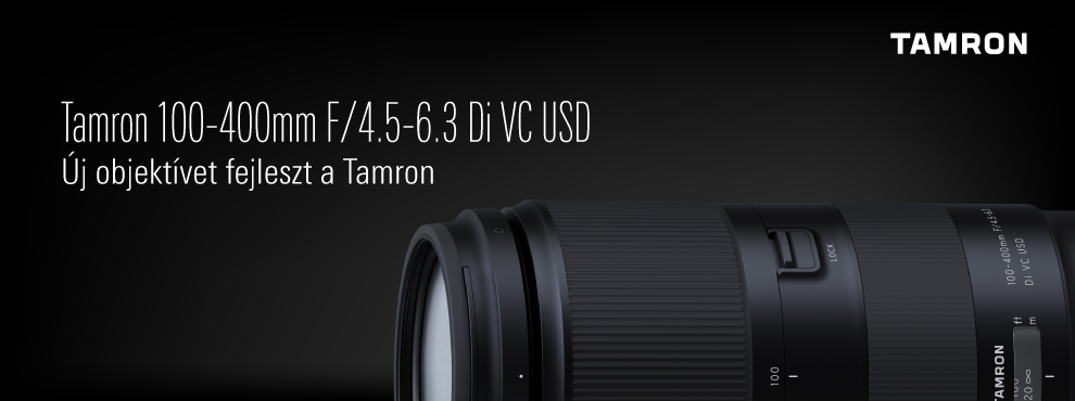 Új objektívet fejleszt a Tamron