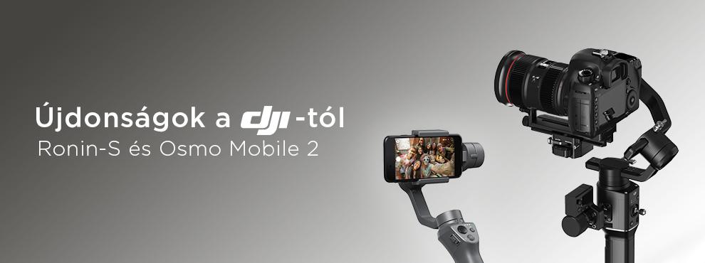 Két új stabilizátort mutatott be a DJI