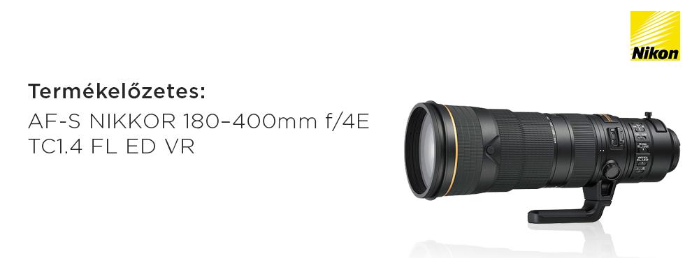 Megérkezett a Nikon kiterjesztett funkciójú teleobjektíve sport-és természetfotózáshoz