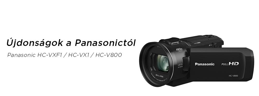Három új videokamerával indítja az évet a Panasonic